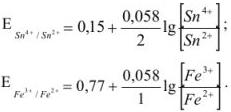 Аналитическая химия задачи с решением