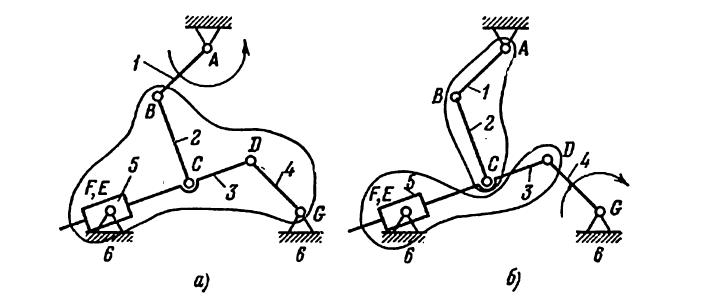Примеры решения задач по теории машин и механизмов