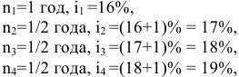 Решение задач по финансовой математике